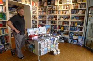 Ein BLick in die Buchhandlung