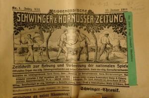 Schwinger- und Hornusserzeitung von 1919