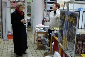 Die russische Buchhandlung in Zuerich ist bekannt - aus der ganzen Schweiz kommen Kundinnen und Kunden