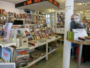 Blick in den Comic-Shop Analph