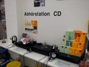 Die Abhörstation für CDs - oder hört hier der Geheimdienst mit?