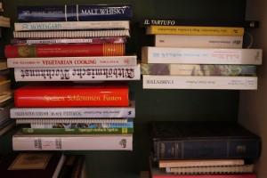 Bücher über Speisen und Getränke. Rezepte zu Hauf.