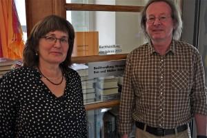 Eva und Walter Reiman leiten die Buchhandlung Hirslanden seit 30 Jahren
