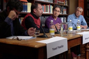 Lesung im Literaturhaus mit Yusuf Yesilöz