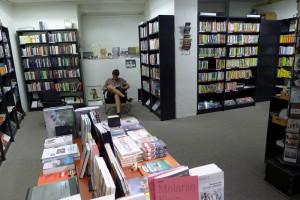 """In der """"Katakombe"""", wo jeweils die Lesungen stattfinden"""