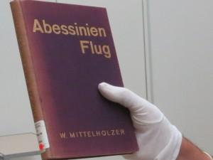 Rarität: W. Mittelholzer, Abessinienflug