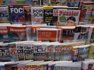 Riesiges Angebot an Zeitschriften