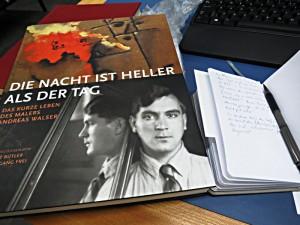 Bücher über Andreas Walser beim Recherche-PC