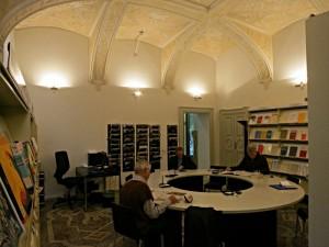 Zeitschriftensaal in der Biblioteca cantonale di Locarno
