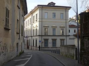 Biblioteca cantonale di Locarno im Palazzo Morettini