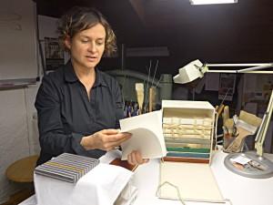 Suzanne Schmollgruber zeigt Arbeiten aus Kursen