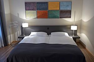 Zimmer im Hotel Altstadt: Urs Widmer gewidmet