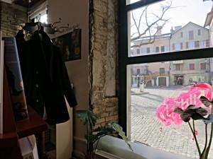 Die freigelegten Fensterlaibungen erzählen ihre Geschichte