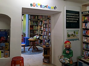 Eingang zum Bücherhimmel