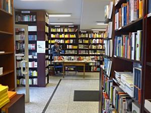Klio - Blick in die Buchhandlung