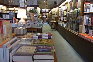 Blick in die Tiefen der Buchhandlung