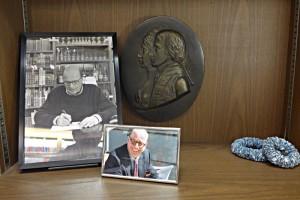 Gedenkecke an Gründer Thomas Bader, gestorben 2014