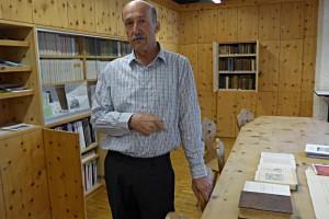 Hans Peter Schreich, Bibliothekar der Biblioteca Jaura in seinem Reich