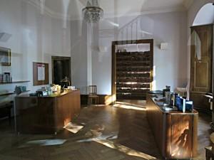 Eingangsbereich zur Bibliothek