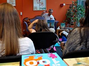 Vorlesen für kleine Gäste