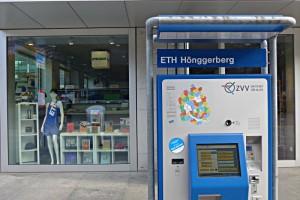 Der ETH Store auf dem Hönggerberg liegt unmittelbar bei der Bushaltestelle