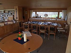 Lebenszentrum in der Looren: der Esstisch