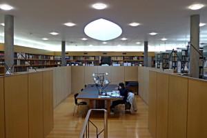 Arbeitsbereich unter dem linsenförmigen Oberlicht