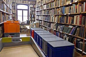 Nachschub an antiquarischen Büchern