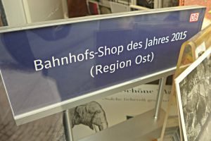 Auszeichnung: Bahnhofs-Shop des Jahres 2015