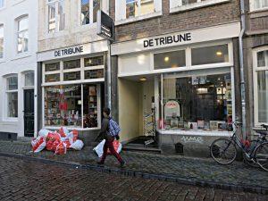 Die beiden zusammengeschlossenen Ladenlokale der Buchhandlung De Tribune