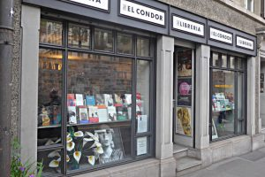El Condor: Schaufenster und Eingang