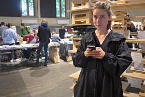 Eveline Wüthrich, Organisatorin der Buchmesse