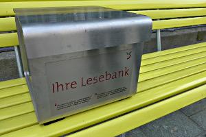 Lesebank in Chur