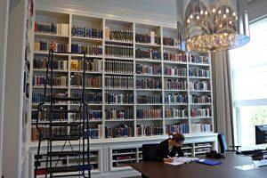 Bibliotheca Rosentaliana Amsterdam, Leseraum
