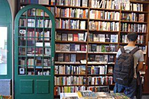 Buchhandlung zum Zytglogge Bern, offene Tür
