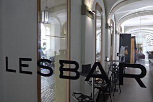 Café der Bergerbibliothek und Uni Bern