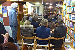 Buchhandlung Mattmann, Lesung de Coster