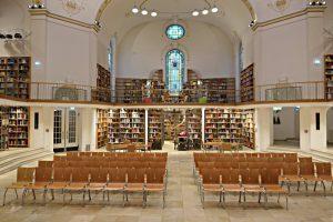 Kuppelsaal, Blick in den ehemaligen Altarraum