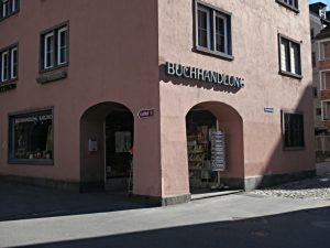 Buchhandlung Karlihof von aussen