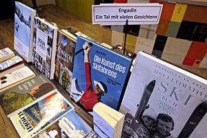Büchertsich mit dem Thema Engadin