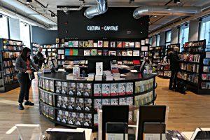 LaFeltrinelli Buchhandlung, Culture = Capitale