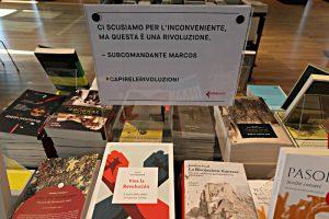 LaFeltrinelli Buchhandlung. Revolutionärer Spruch
