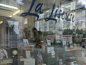 """Schaufenster von """"La Liseuse"""""""