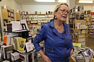 """Besitzerin von """"La liseuse"""": Françoise Berclaz"""