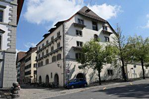 Stadbibliothek Zug, Aussenansicht