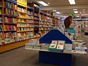 Breites Angebot an Kinderbüchern
