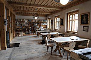 Biblioteca Rumauntscha, Lesesaal