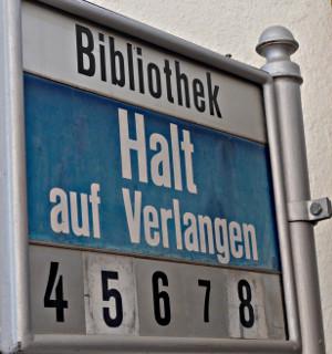 Haltestelle Bibliothek Luzern