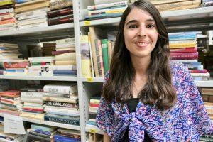 Buchplanet Flawil, die Leiterin, Sara Grob