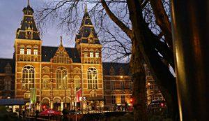Amsterdam Rjiksmuseum Fassade